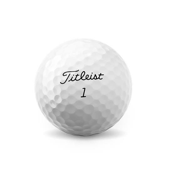 Golfboll - Titleist Pro V1 med tryck Vit