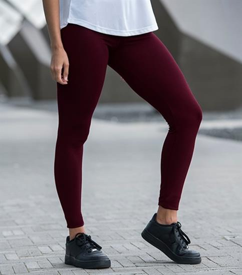 Leggings Just Cool Workout med tryck Silver