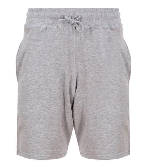 Shorts Just Cool med tryck Grå