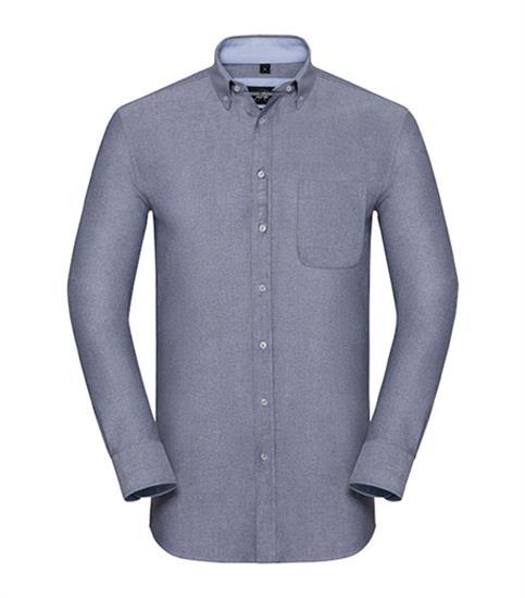 Skjorta Ekologisk Oxford med tryck