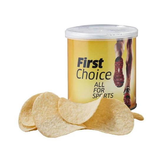 Pringles 40g med tryck Vit