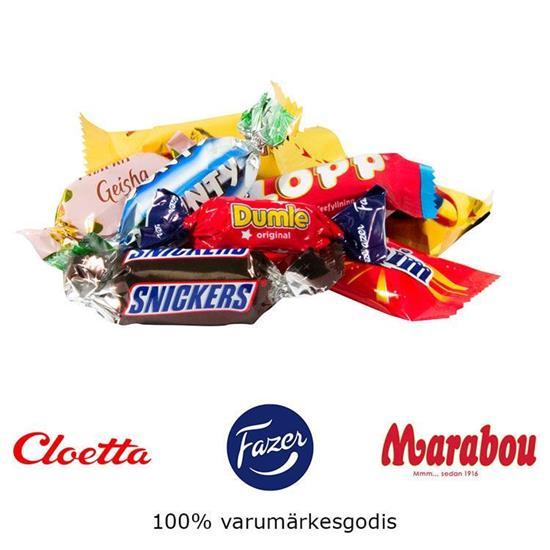 Bild på 2,5kg Julkorg Inslaget godis