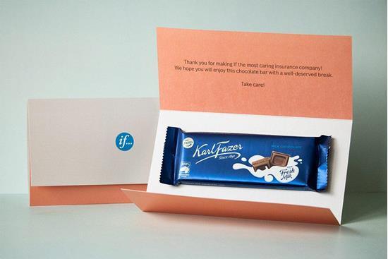 Bild på Chokladbrev med hemleverans - Påskbrev