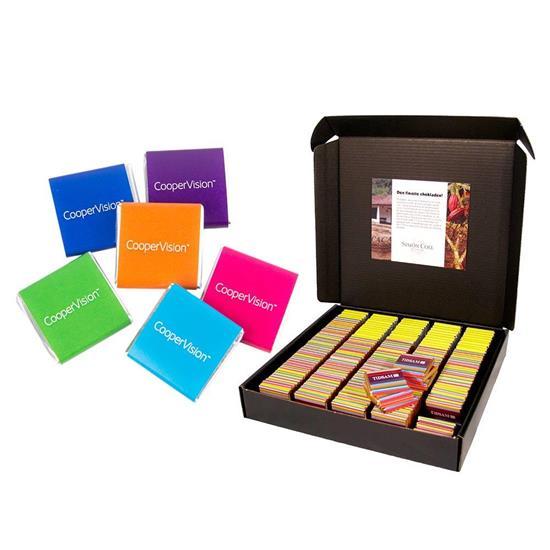 Chokladbitar 5g - Express med tryck Vit
