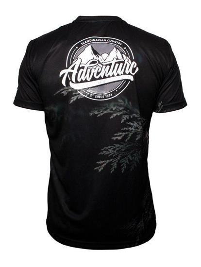 T-shirt egen design med tryck Vit