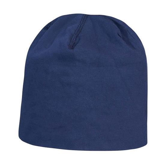 Mössa Retail med tryck Marinblå