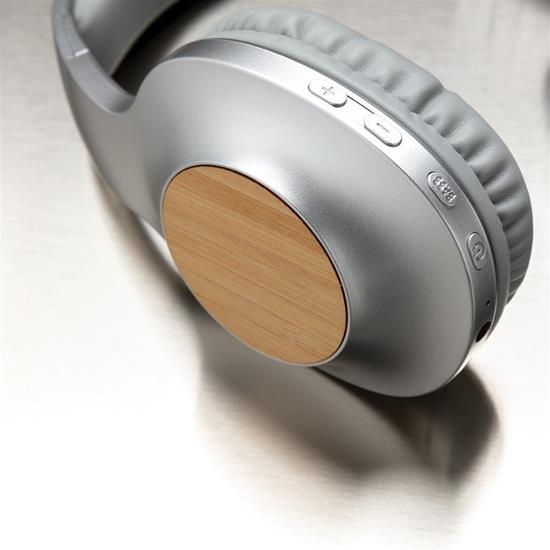 Hörlurar Dakota trådlösa  med tryck Grå