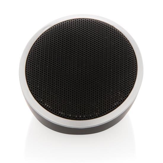 Högtalare Cosmo 3W Bluetooth® med tryck Svart