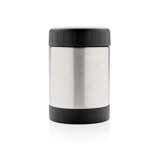 Mat Termos Standard 300ml med tryck Silver