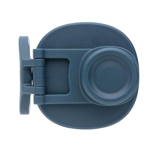 Termosflaska Steel 550ml med sportlock med tryck Blå