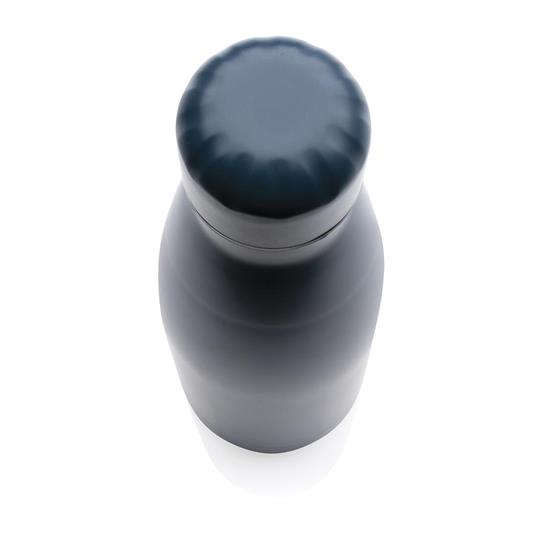 Termosflaska Enfärgad 500ml med tryck Blå
