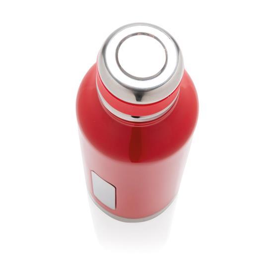 Termosflaska Logo 500ml med tryck Röd