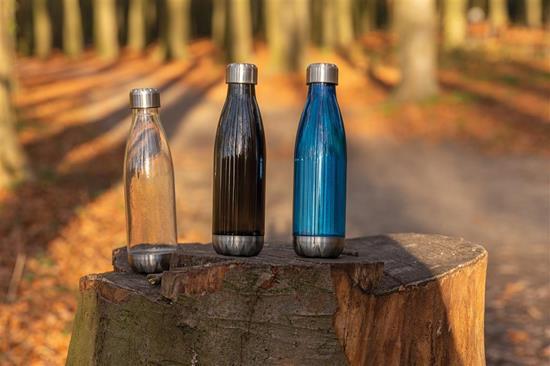 Vattenflaska Läckagesäker 600ml med tryck Vit