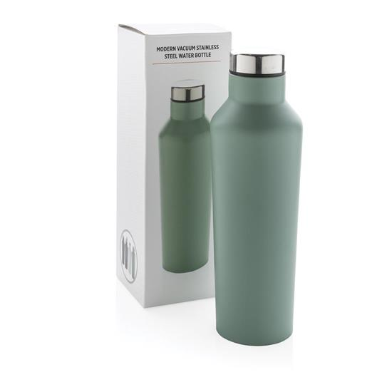 Termosflaska Modern 500ml med tryck Grön
