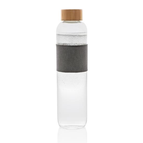 Glasflaska Impac 750ml med tryck Vit