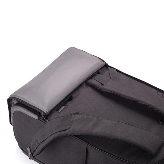 Bobby ryggsäckstrolley, svart med tryck Svart