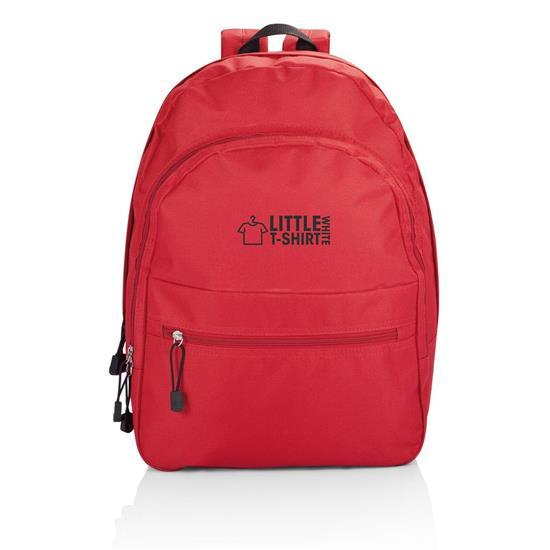 Ryggsäck Basic 17L med tryck Röd
