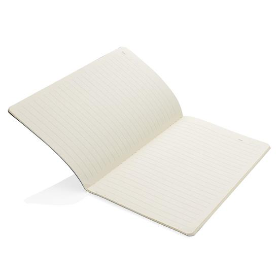 Anteckningsbok Klassiskt softcover A5 med tryck Svart