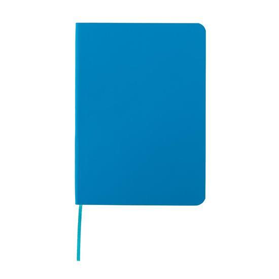 Anteckningsbok Standard flexibel A5 med tryck Blå