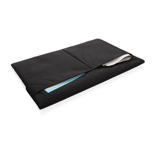 "15.6"" laptopfodral med tryck Svart"