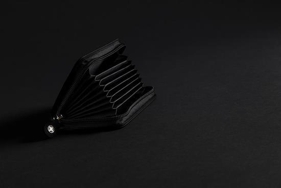 Swiss Peak RFID Korthållare med tryck Svart