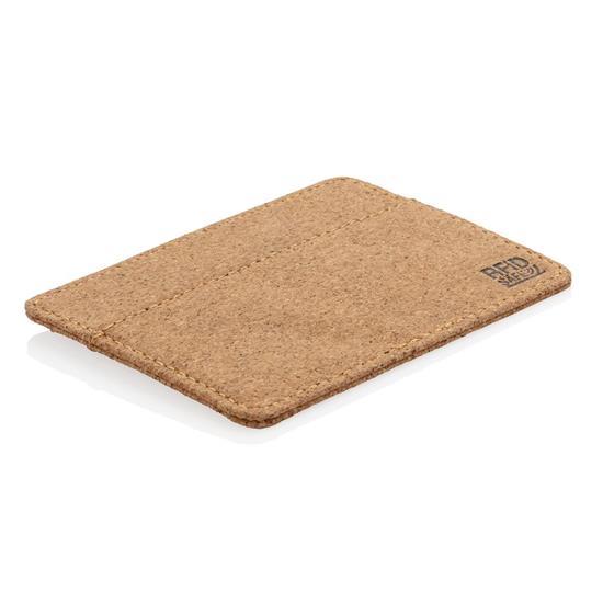 Plånbok RFID ekologisk med tryck Brun