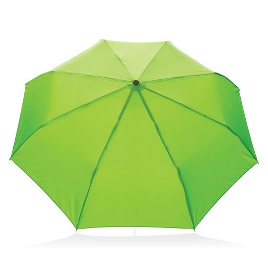 "Kompaktparaply RPET 21"" med tryck Grön"