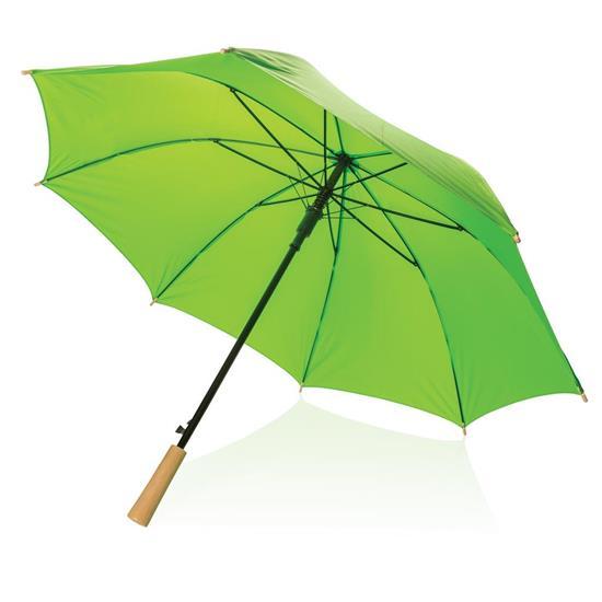 "Stormparaply RPET 23"" med tryck Grön"