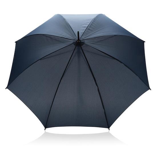 """Paraply Automatiskt 23"""" med tryck Blå"""