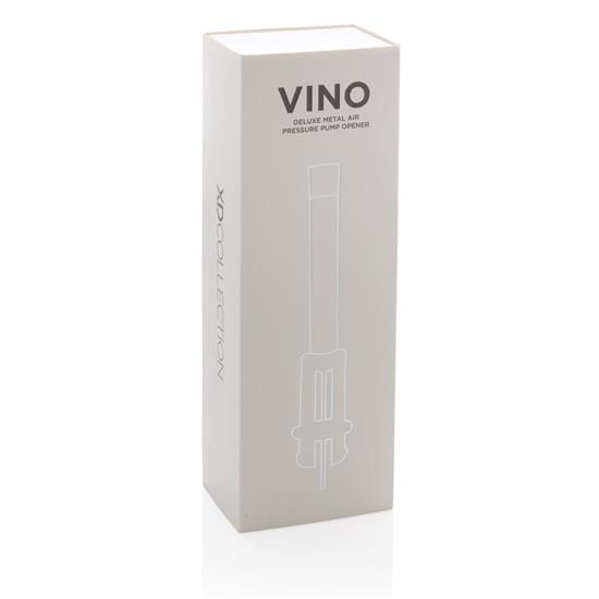 Vinöppnare Vino tryckluft med tryck Silver