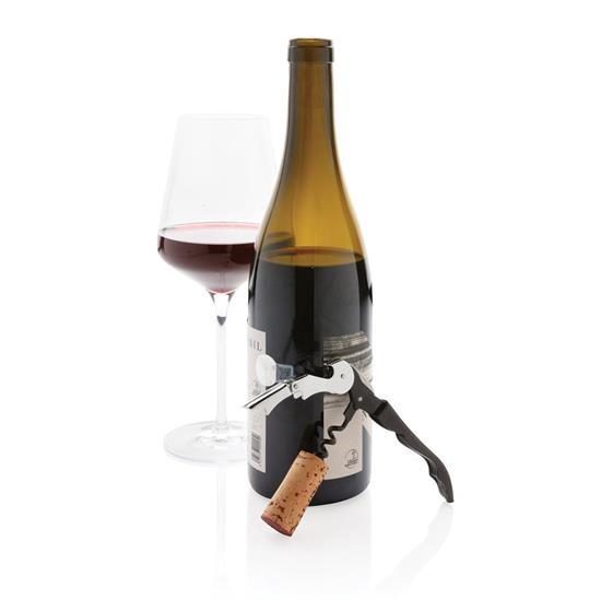 Korkskruv Vino med tryck Svart