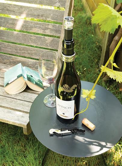 Vinset Vino Sommelier 3 delar med tryck Silver