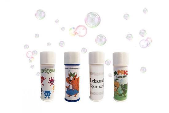 Såpbubblor 60ml med tryck Vit