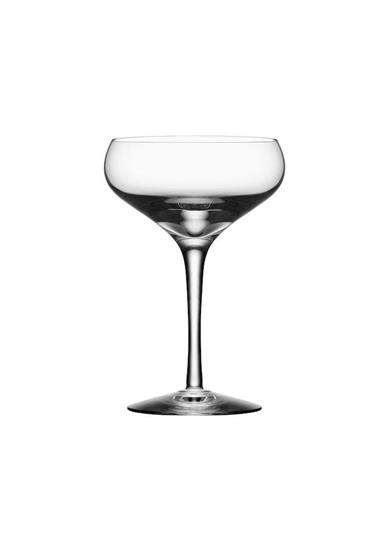 Orrefors MORE Coupe 4st 21CL med tryck Transparent