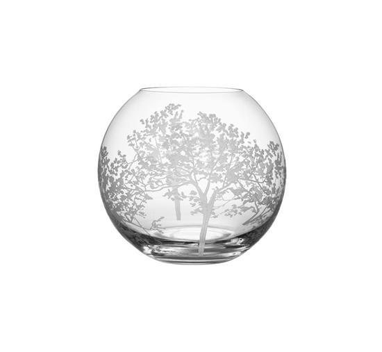 Orrefors ORGANIC Vas med tryck Transparent