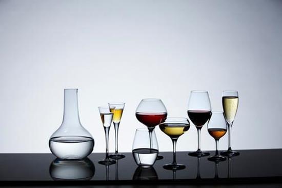 Orrefors MORE Champagne 4st 18CL med tryck Transparent