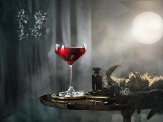 Orrefors AVANT GARDE Cocktail  4st 29CL med tryck Transparent