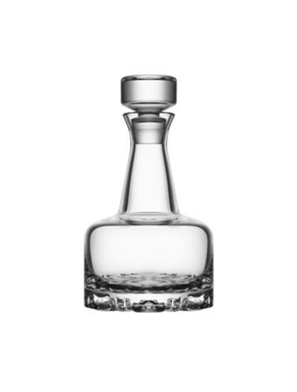 Orrefors ERIK Karaff + 2st Glas med tryck Transparent