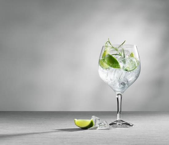 Orrefors GIN & TONIC 4st 64CL med tryck Transparent