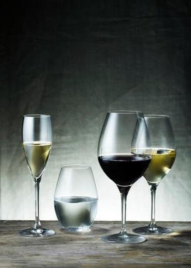 Orrefors MORE Champagne 2st 18CL med tryck Transparent