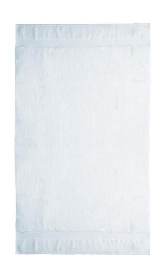 Handduk Seine 100x180cm 550 g/m² med tryck Vit
