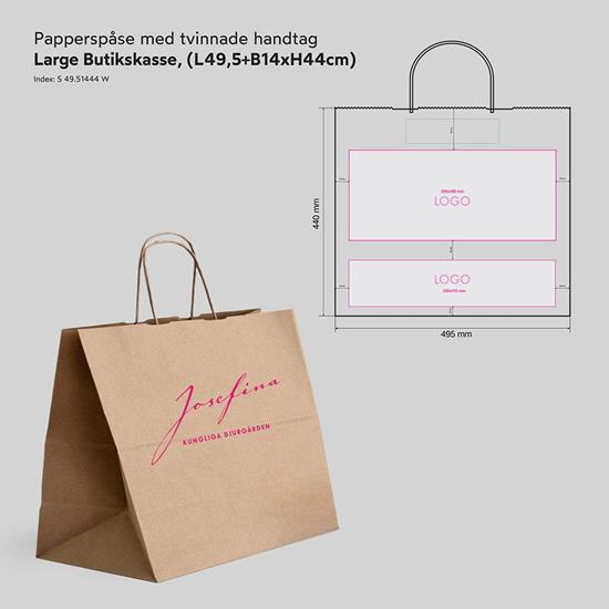 Bild på Papperspåse Butik Lagre