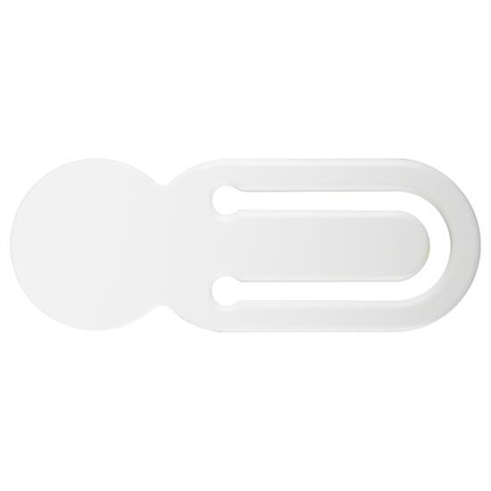 Kundvagnsmynt Myntis 5 SEK med tryck Vit