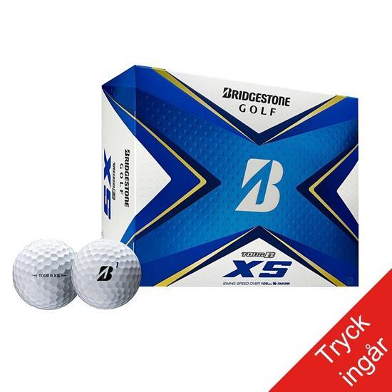 Golfboll - Bridgestone Tour B XS med tryck Vit