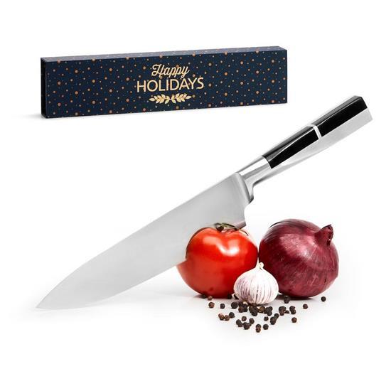 SAGAFORM Kockkniv stål med tryck Silver