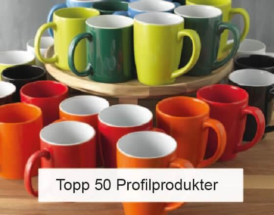Populära profilprodukter med eget tryck topplista
