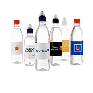 Profilerad dryck med tryck