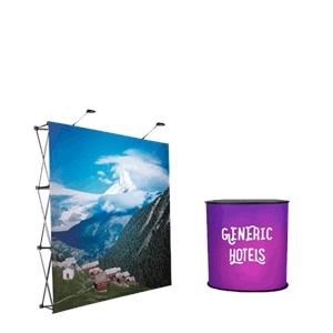 Displaysystem- Tält med tryck
