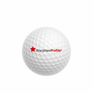 Golfbollar med tryck