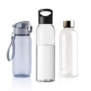 Tritanflaskor med tryck